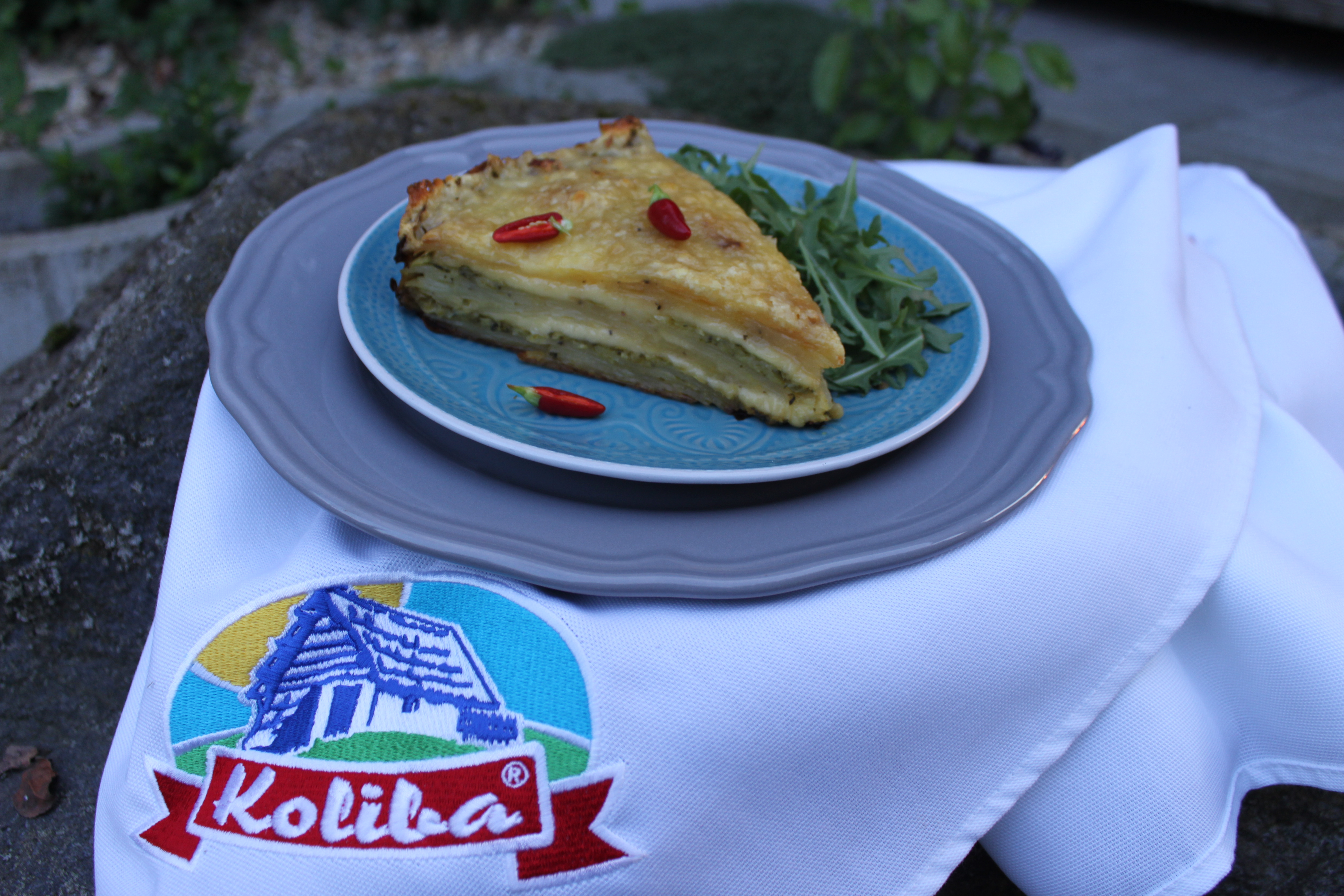 Cuketovo-zemiakové lasagne